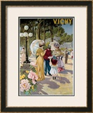 Vichy Framed Giclee Print by  Tanconville