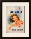 Telefunken Visage Et Danseurs Poster