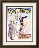 Hippodrome Skobeleff Framed Giclee Print by Jules Chéret