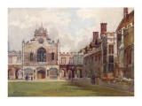 Cambridge: Peterhouse College First Court Giclee Print