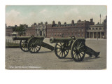 An Illustration of the Woolwich Barracks, with Two Canons in the Foreground Giclee Print