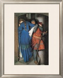 Meeting on the Turret Stairs Posters by Frederick William Burton