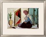 Femme au Miroir, 1937 Poster by Pablo Picasso