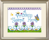 Princess Sleeps Here Posters by Tania Schuppert