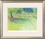 Convenience Store Clearing Limited Edition Framed Print by Tatara