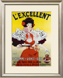 L'Excellent Framed Giclee Print by Georges Meunier