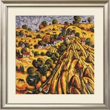 GOLDEN HARVEST Limited Edition Framed Print by CHARLES MONTEITH WALKER