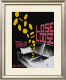 Grasping Grammar: Lose Loose Poster by Christopher Rice