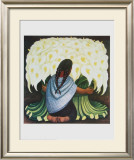 The Flower Seller Prints by Diego Rivera
