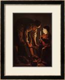Sait Joseph Charpentier Poster by George De La La Tour