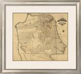 San Francisco, California, c.1873 Framed Giclee Print by Henry G. Langley