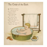 Baby in the Bath Giclee Print