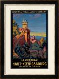 Le Chateau de Haut-Koenigsbourg Framed Giclee Print by Pierre Commarmond