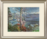 Tree at the Walchensee Art by Lovis Corinth
