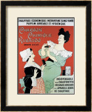 Charbon Rubaudo Framed Giclee Print by D. Auvergne