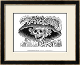 Calivera Catrina Print by Jose Guadalupe Posada