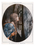 An Anonymous Prisoner Is Consoled with a Kiss from a Beautiful Woman Giclee Print