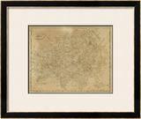 Asia, c.1812 Framed Giclee Print by Aaron Arrowsmith