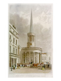 All Souls Church Giclee Print