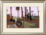 Park, Venice Beach, California Framed Giclee Print by Steve Ash