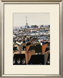 Toits de Paris Prints by Giovanni Manzo