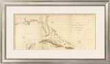West Indies I, c.1810 Framed Giclee Print by Aaron Arrowsmith