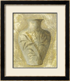 Vase Tropical I Print by Didier Berger