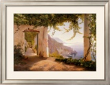 Amalfi Dia Cappuccini Posters by Carl Frederic Aagaard