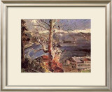 Tree at Walchensee Prints by Lovis Corinth