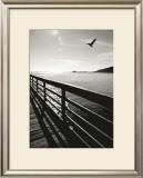 Wooden Walkway, Avila Beach Posters by Ethel Davies