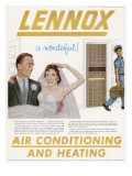 Air Conditioning Advert Giclee Print