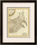Russia Orientale, c.1785 Framed Giclee Print by Rigobert Bonne