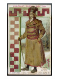 A Polish Peasant in a Thick Brown Overcoat and Tough Boots Giclee Print