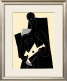 Woman with Guitar, c.1924 Print by Pablo Picasso