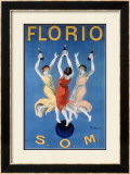 Florio O.M. Framed Giclee Print by Leonetto Cappiello