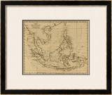 East India Islands, c.1812 Framed Giclee Print by Aaron Arrowsmith