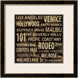 Los Angeles Prints by Luke Wilson