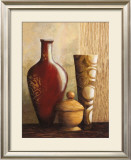 Mahogany Vessel II Prints by Kristy Goggio