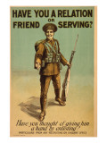 British Army Recruitment Poster Giclee Print