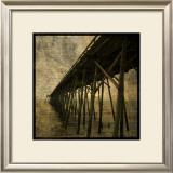 Ocean Pier No. 1 Posters by John Golden