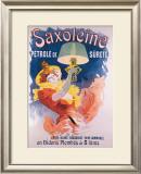 Saxoleine en Bidons Plombes Framed Giclee Print by Jules Chéret