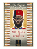 British Colonial Empire Poster Giclee Print