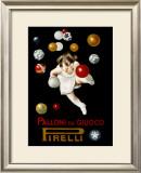 Pirelli Palloni da Giuoco Framed Giclee Print by Leonetto Cappiello