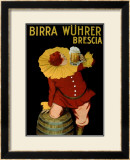 Birra Wuhrer Framed Giclee Print by Leonetto Cappiello