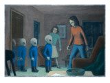 Andreasson Abduction Giclee Print by Michael Buhler