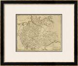 Germany North, c.1812 Framed Giclee Print by Aaron Arrowsmith