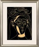 Femme au Chapeau Fleuri Prints by Pablo Picasso