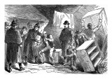 An Eviction at Glenbeigh, County Kerry, 1887 Giclee Print