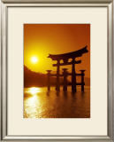 O-Torii Gate, Itsukushima Shrine, Japan Posters by Paul Thompson