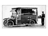 Ambulance Reproduction proc&#233;d&#233; gicl&#233;e